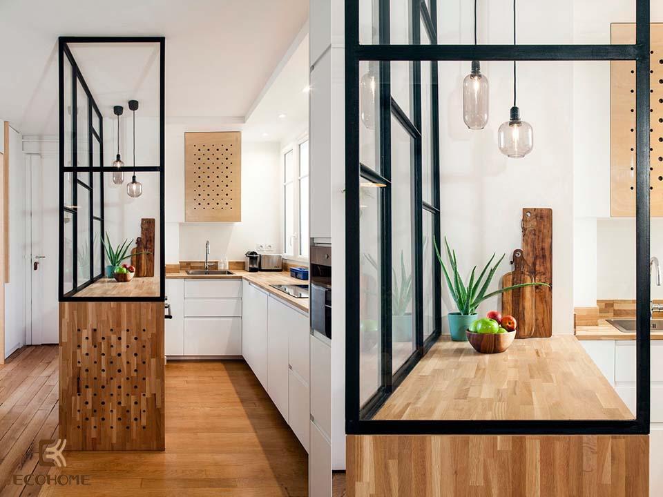 thiết kế nhà bếp nhỏ gọn 13