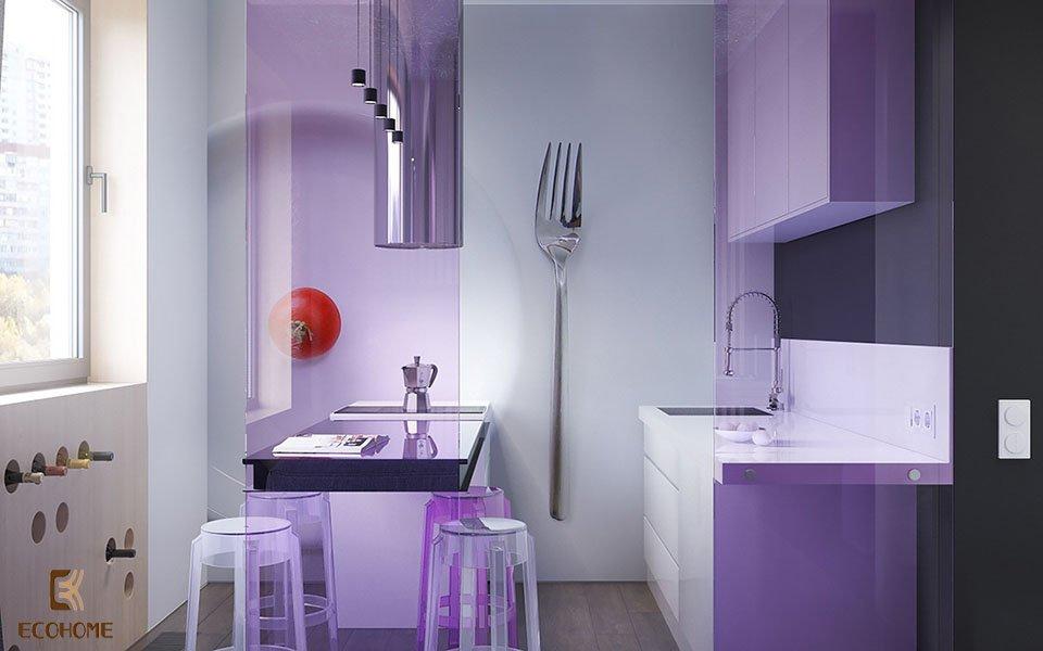 thiết kế nhà bếp nhỏ gọn 16