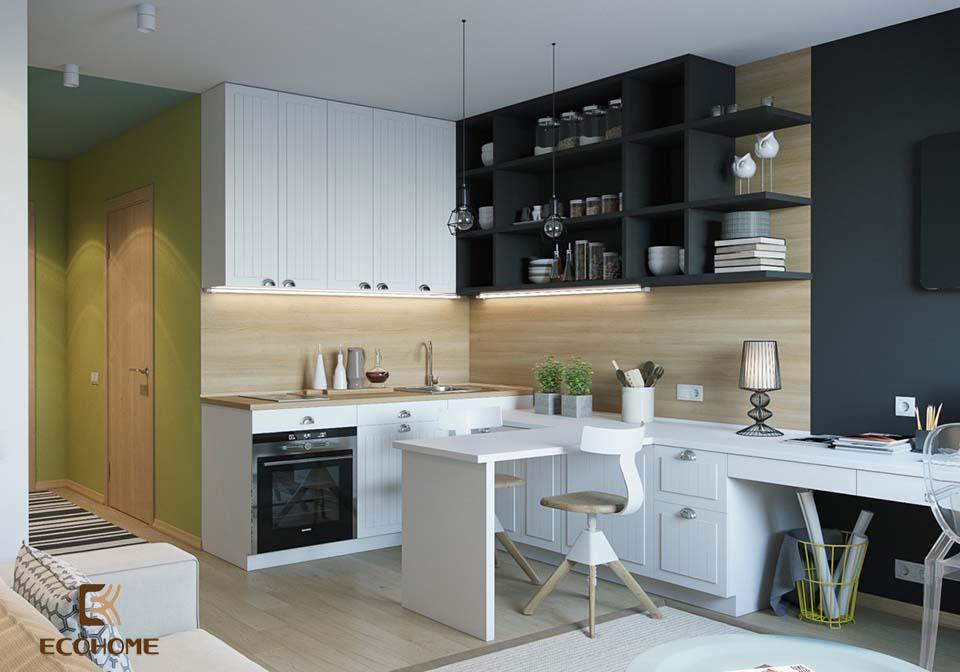 thiết kế nhà bếp nhỏ gọn 17