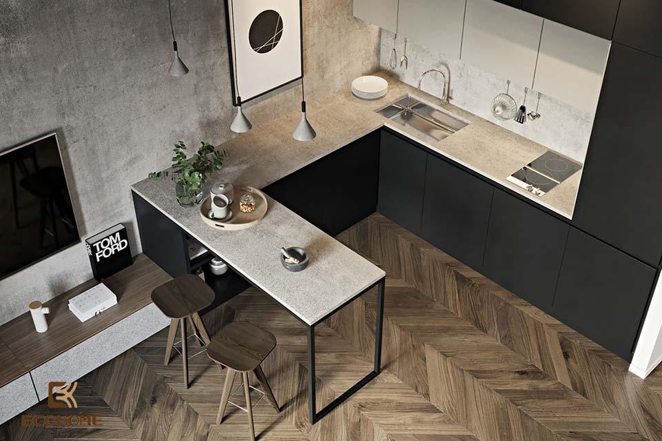 thiết kế nhà bếp nhỏ gọn 18