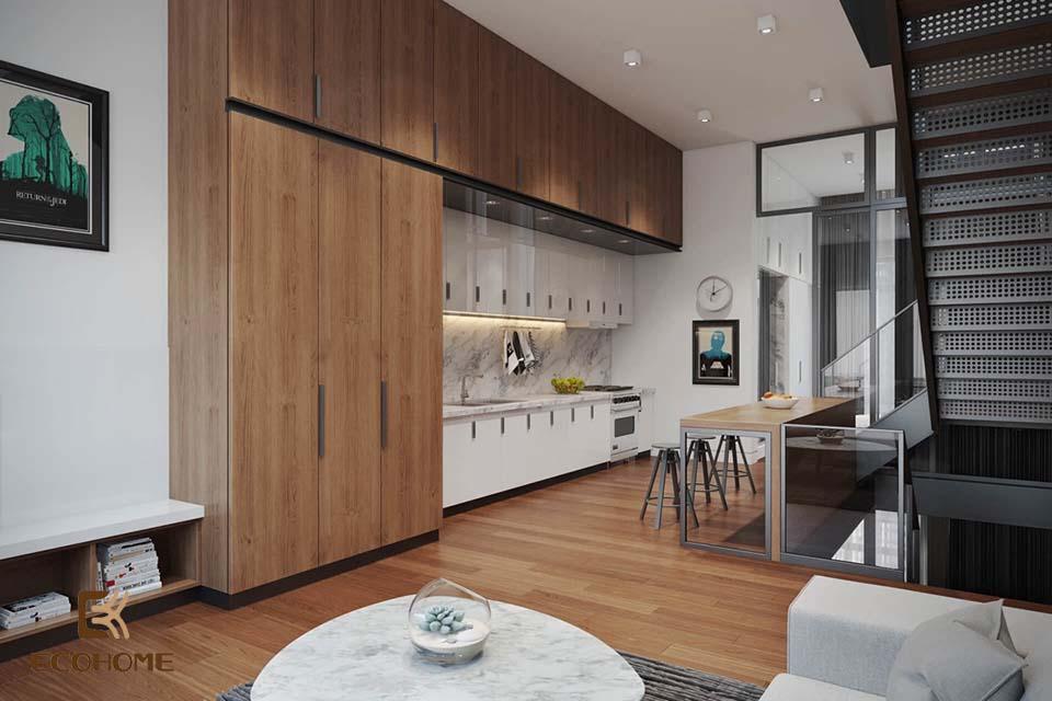 thiết kế nhà bếp nhỏ gọn 2