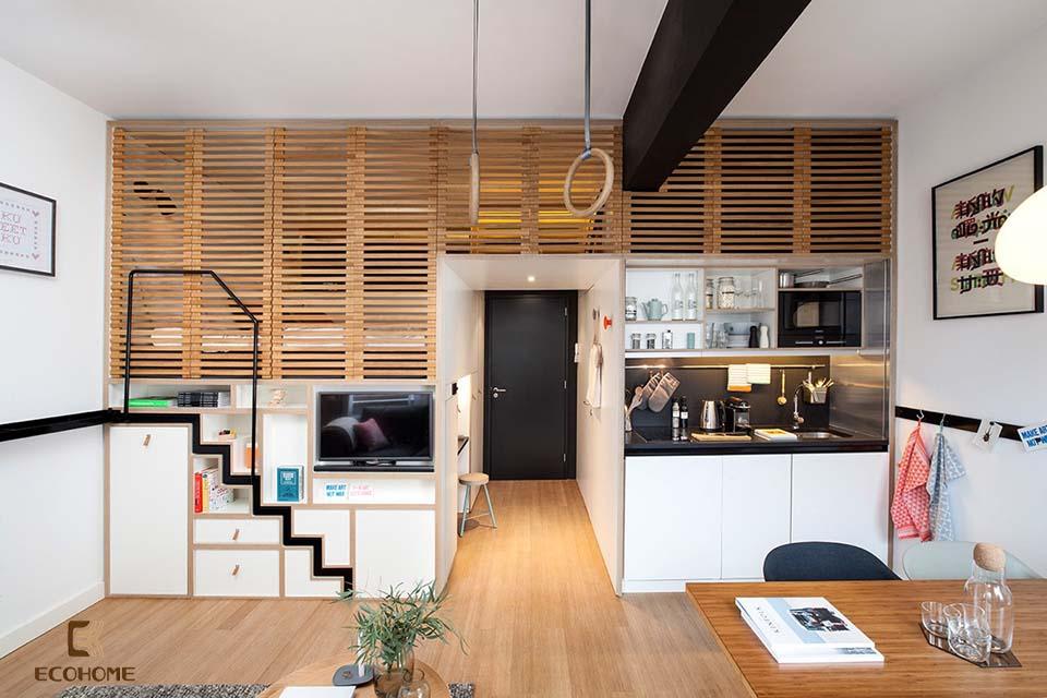 thiết kế nhà bếp nhỏ gọn 22