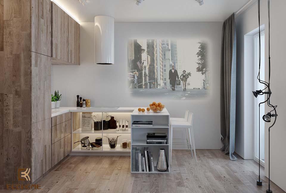 thiết kế nhà bếp nhỏ gọn 23