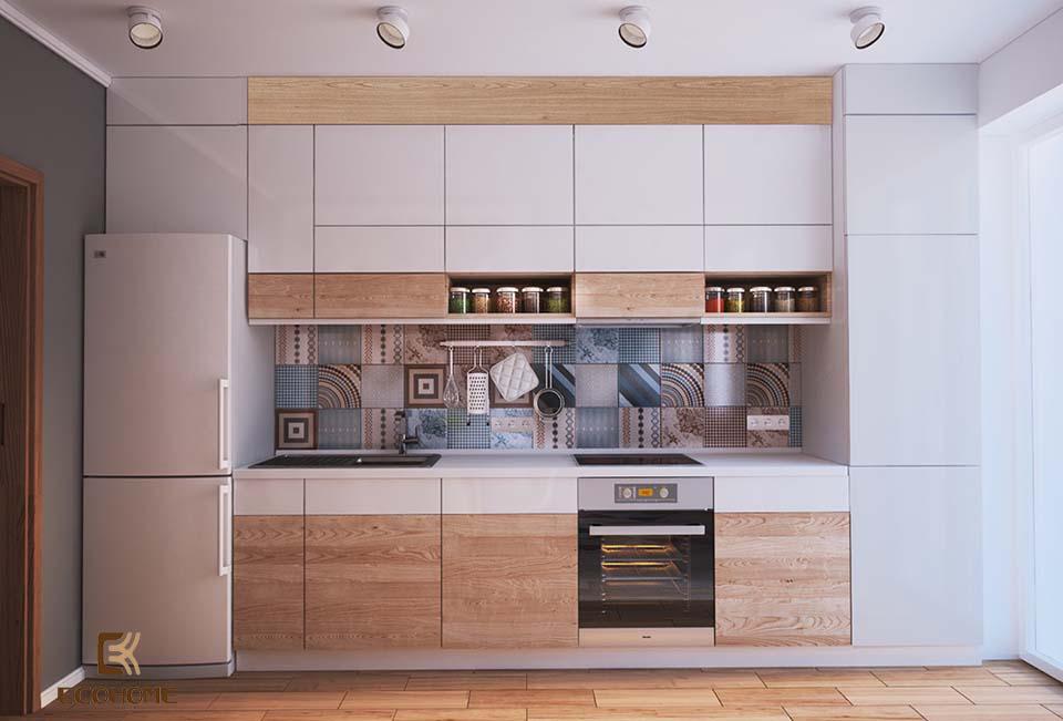 thiết kế nhà bếp nhỏ gọn 24