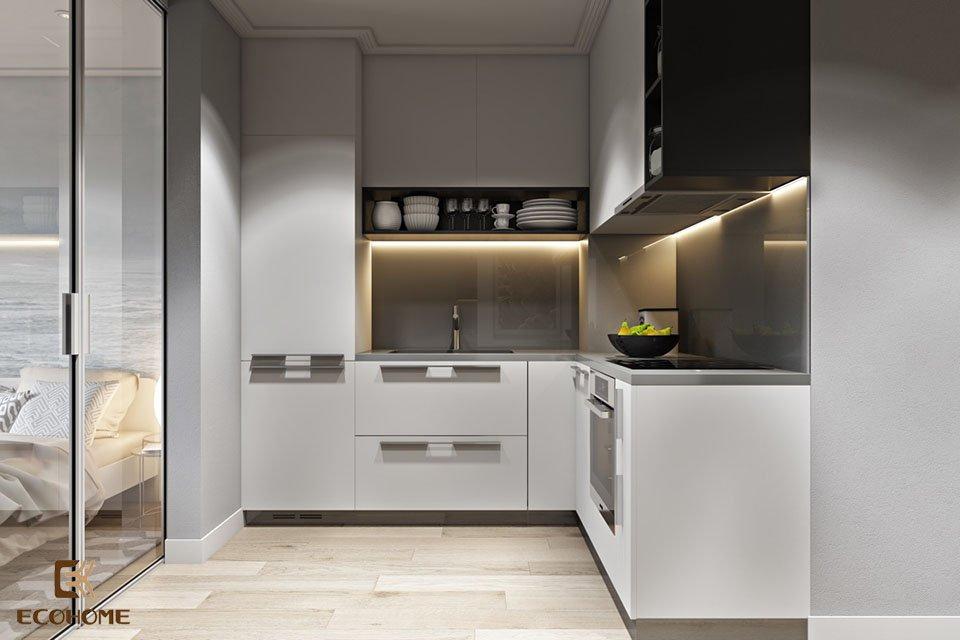 thiết kế nhà bếp nhỏ gọn 9