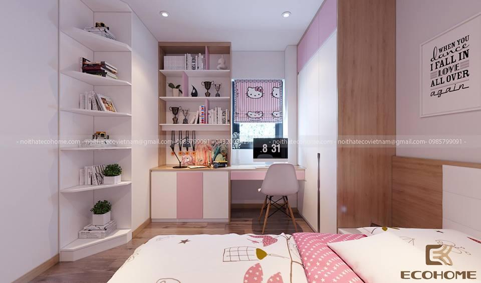 thiết kế nội thất phòng bé gái ECO12 (2)