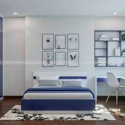 thiết kế nội thất phòng bé trai ECO11 (2)