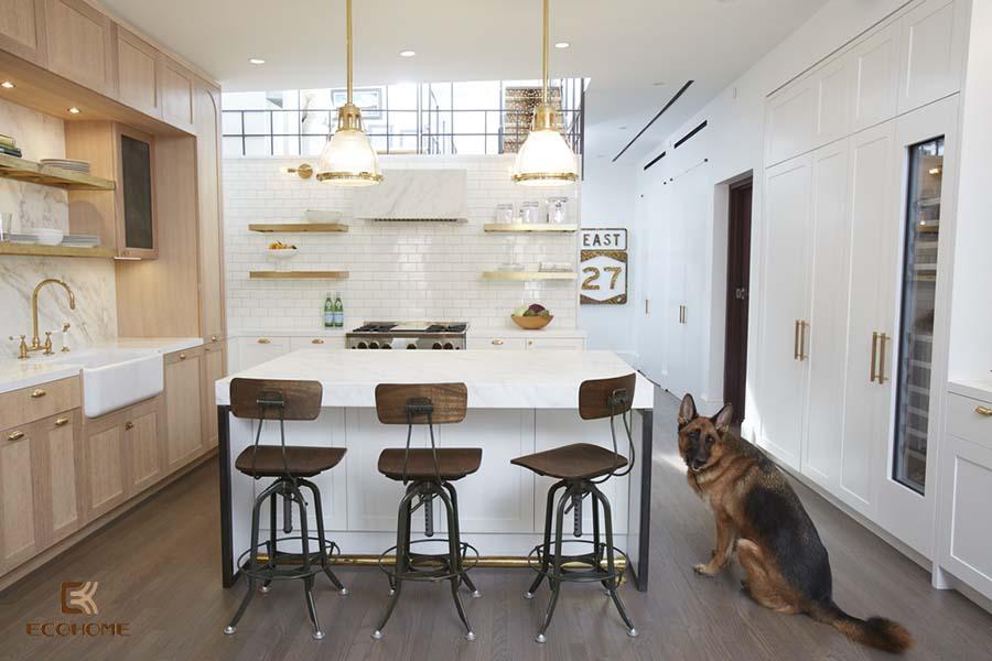 thiết kế nội thất phòng bếp 4