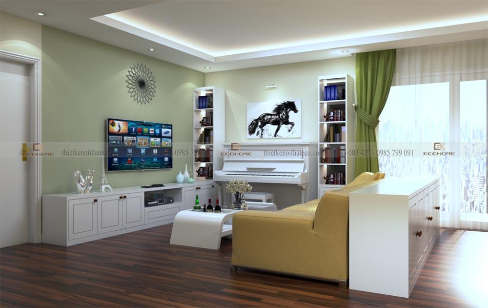 thiết kế nội thất phòng khách 10 (2)
