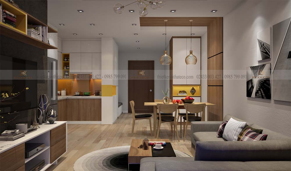 thiết kết nội thất phòng khách 11 (1)