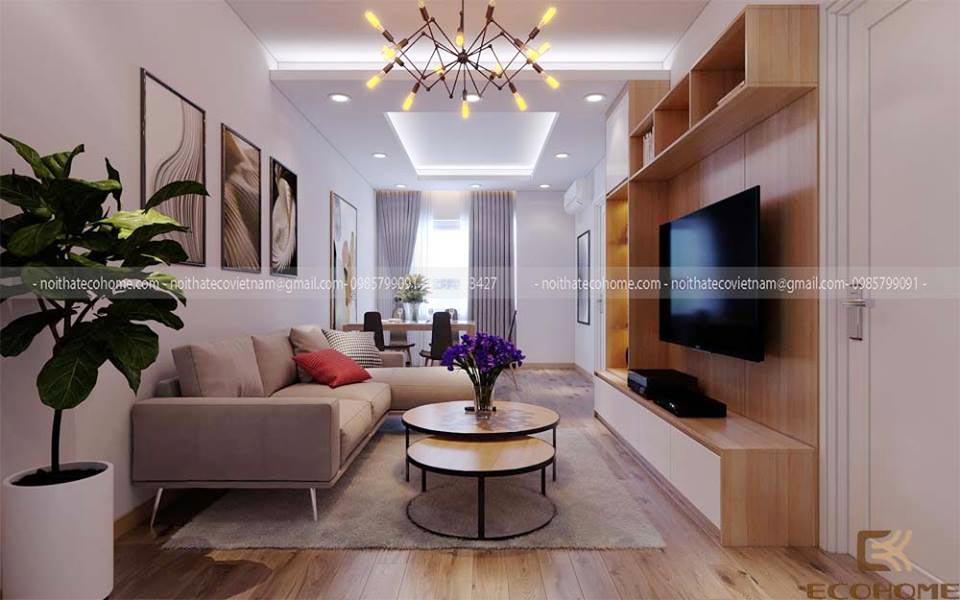 thiết kế nội thất phòng khách 13