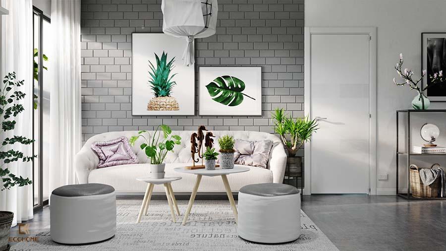 thiết kế nội thất phòng khách 14