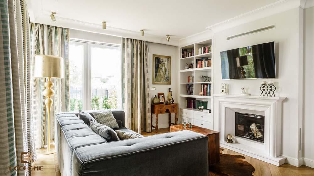 thiết kế nội thất phòng khách 16