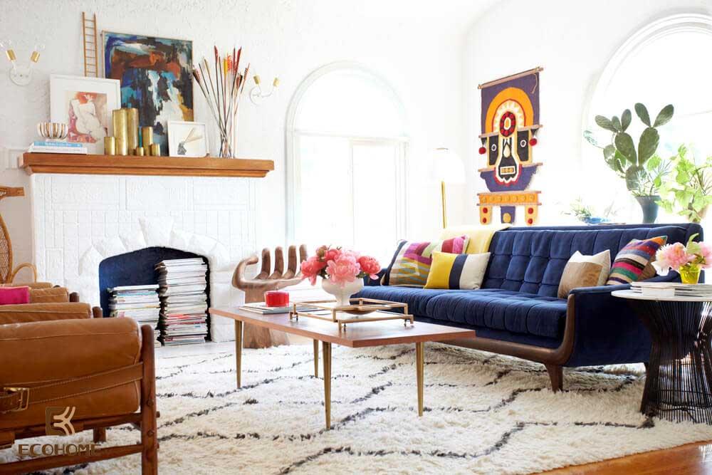 thiết kế nội thất phòng khách 18