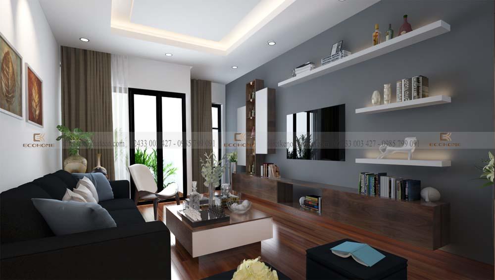 thiết kế nội thất phòng khách 8 (1)