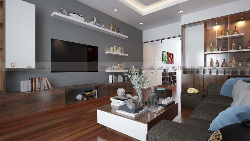 thiết kế nội thất phòng khách 8 (2)