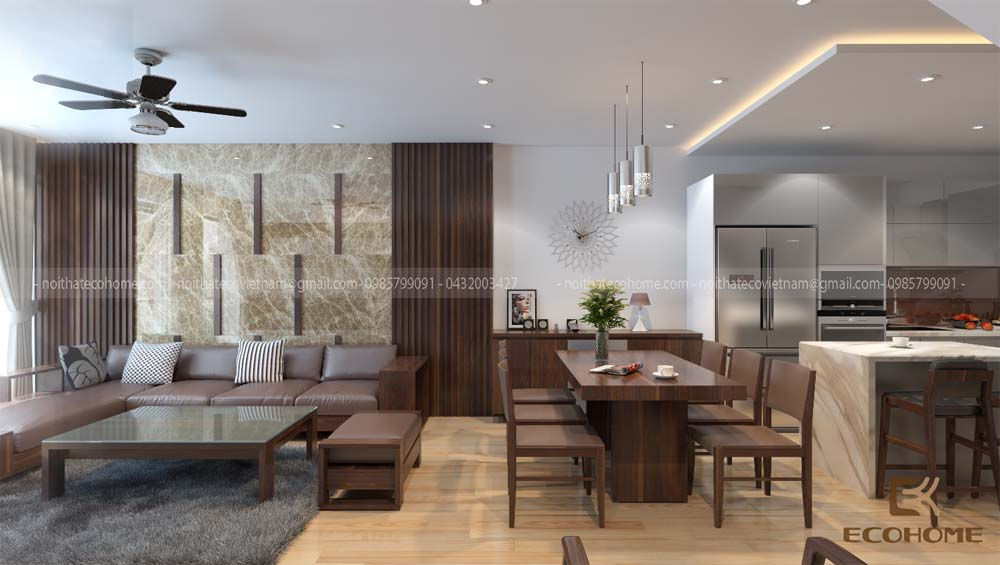 thiết kế nội thất phòng khách 9 (1)