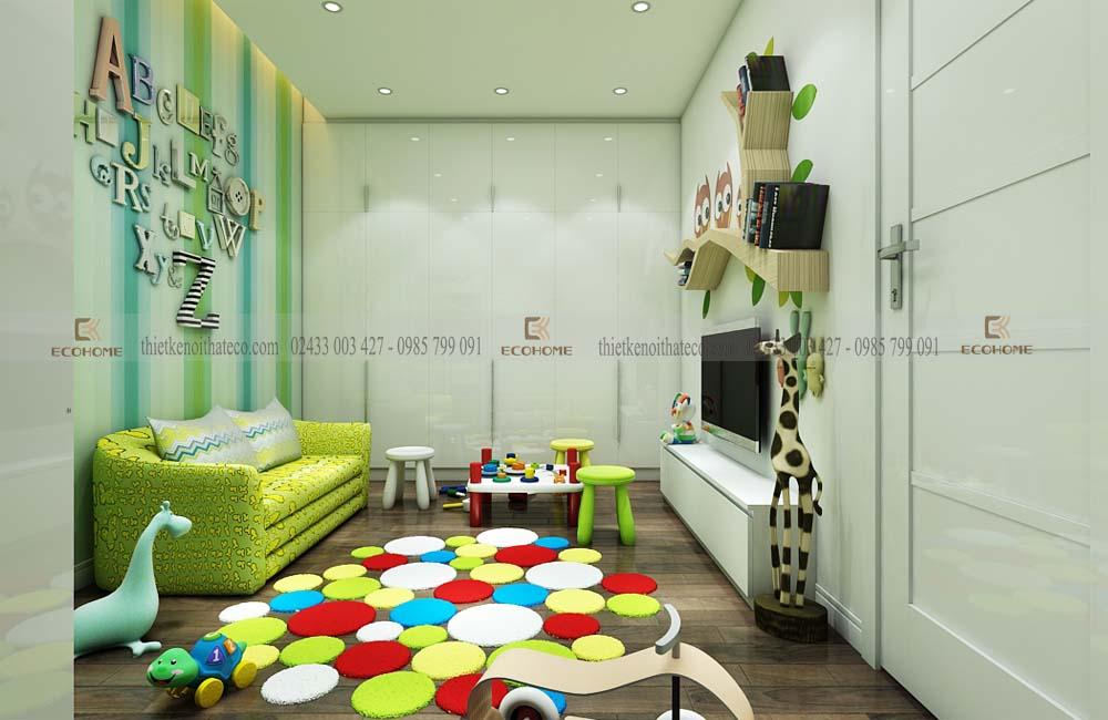 thiết kế nội thất trẻ em ECO19 (2)