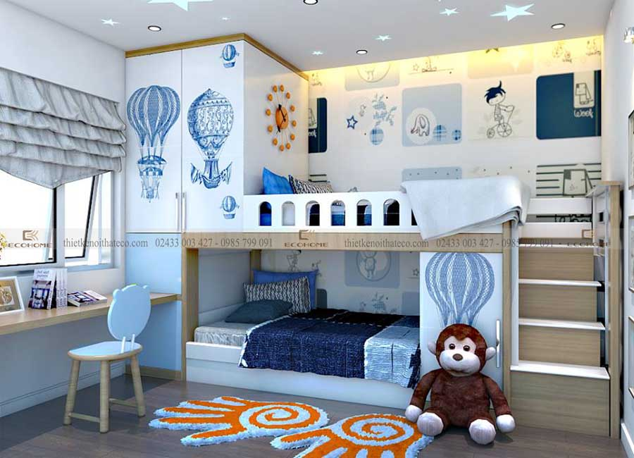 thiết kế nội thất trẻ em ECO20 (1)