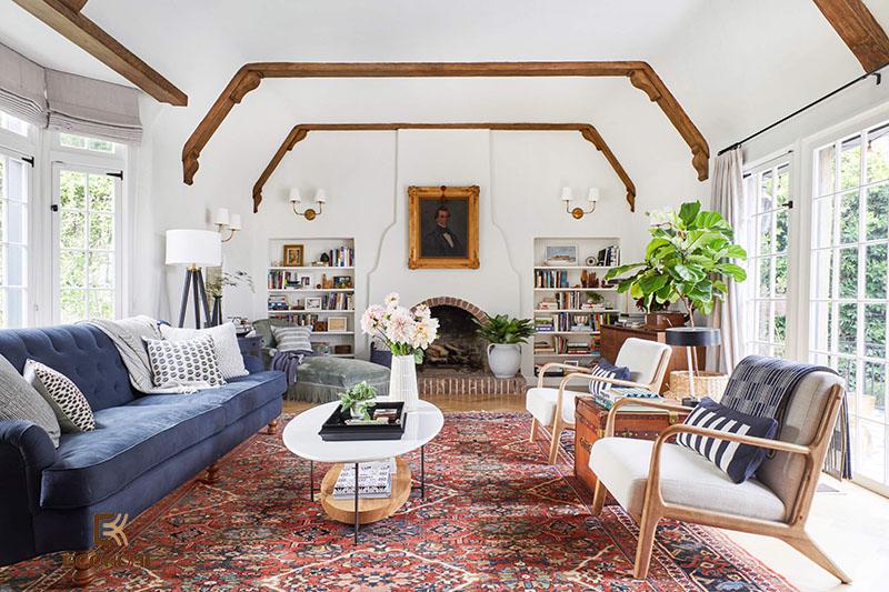 trang trí nội thất phòng khách nhà cấp 4 (10)