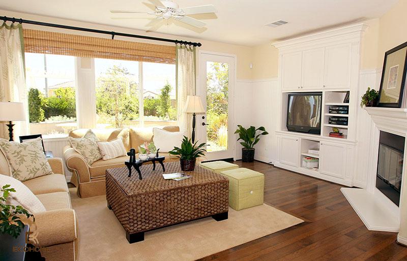 trang trí nội thất phòng khách nhà cấp 4 (11)