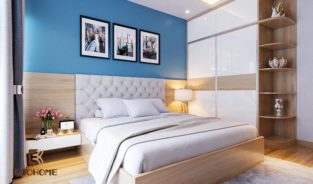 thiết kế bố trí phòng ngủ 16m2 (1)