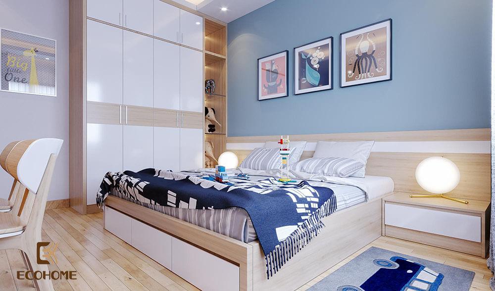 thiết kế bố trí phòng ngủ 16m2 (6)