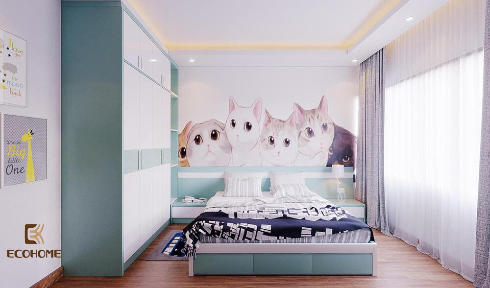 thiết kế bố trí phòng ngủ 16m2 (8)