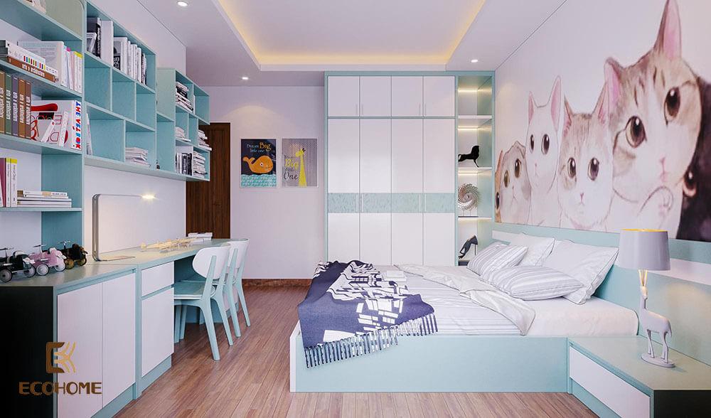 thiết kế nội thất phòng ngủ 52
