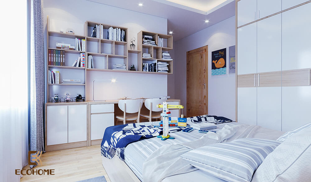thiết kế nội thất phòng ngủ 54