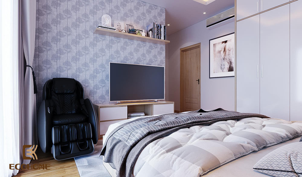 thiết kế nội thất phòng ngủ 60