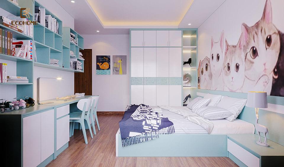 thiết kế nội thất phòng ngủ tại thanh hóa 6
