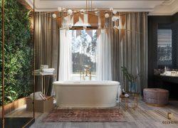 mẫu nhà tắm đẹp sang trọng 6