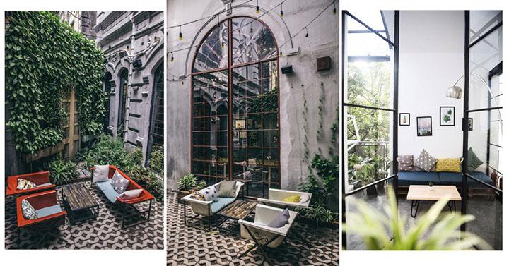 Nhà 9NKC- Quán cafe ngoài trời đẹp ở Hà Nội (2)
