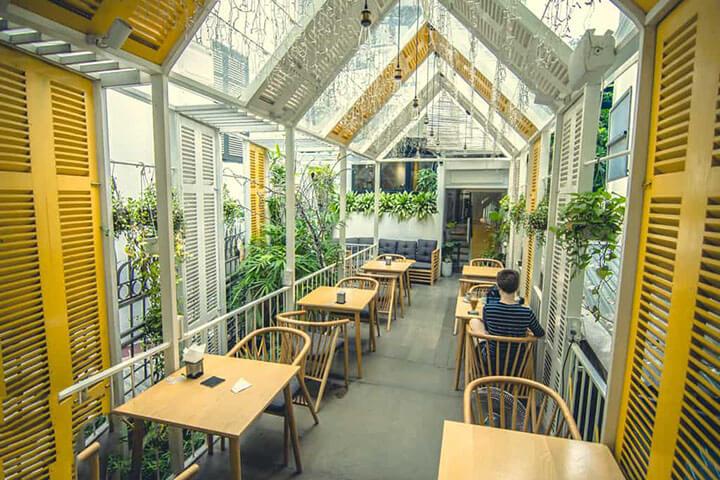 The Rustics Coffee- Quán cafe ngoài trời đẹp ở Hà Nội (1)