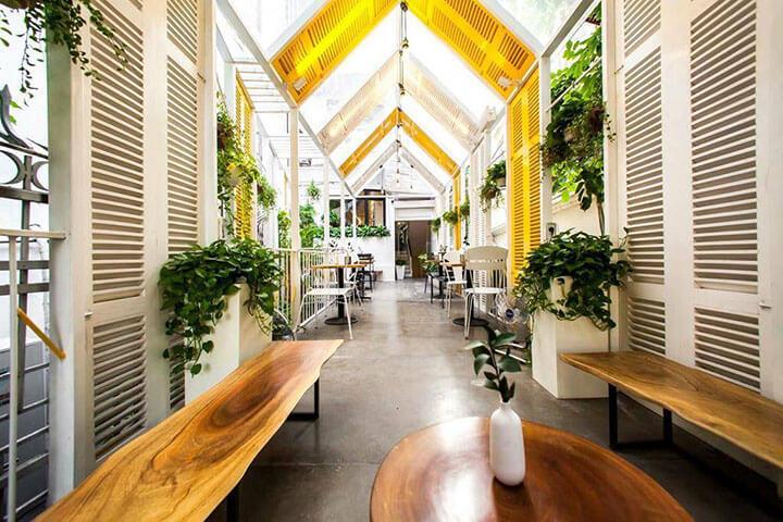 The Rustics Coffee- Quán cafe ngoài trời đẹp ở Hà Nội (2)