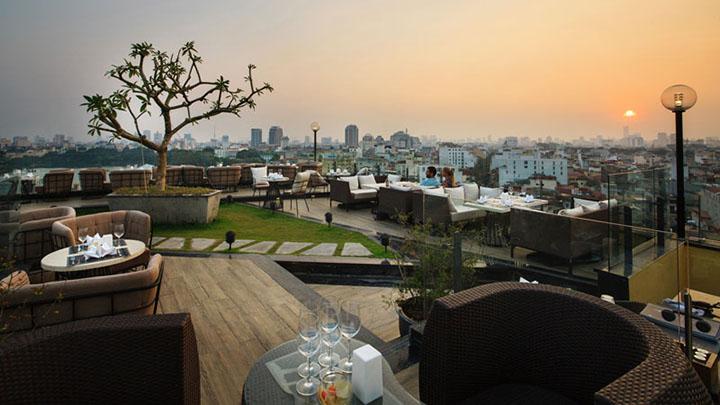 Skyline Hanoi- Quán café ngoài trời đẹp ở Hà Nội (1)
